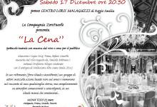 LA CENA 17 dicembre 2016 centro Malaguzzi
